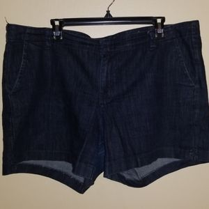 Old navy dark denim shorts